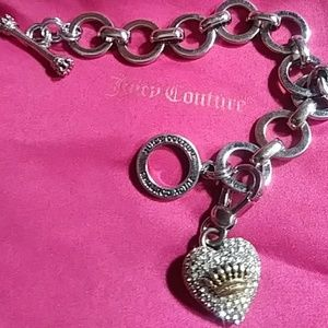 JUICY COUTURE STERLING BRACELET